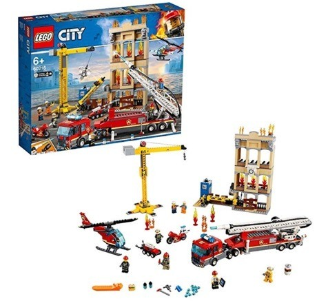 Lego City Feuerwehrstation